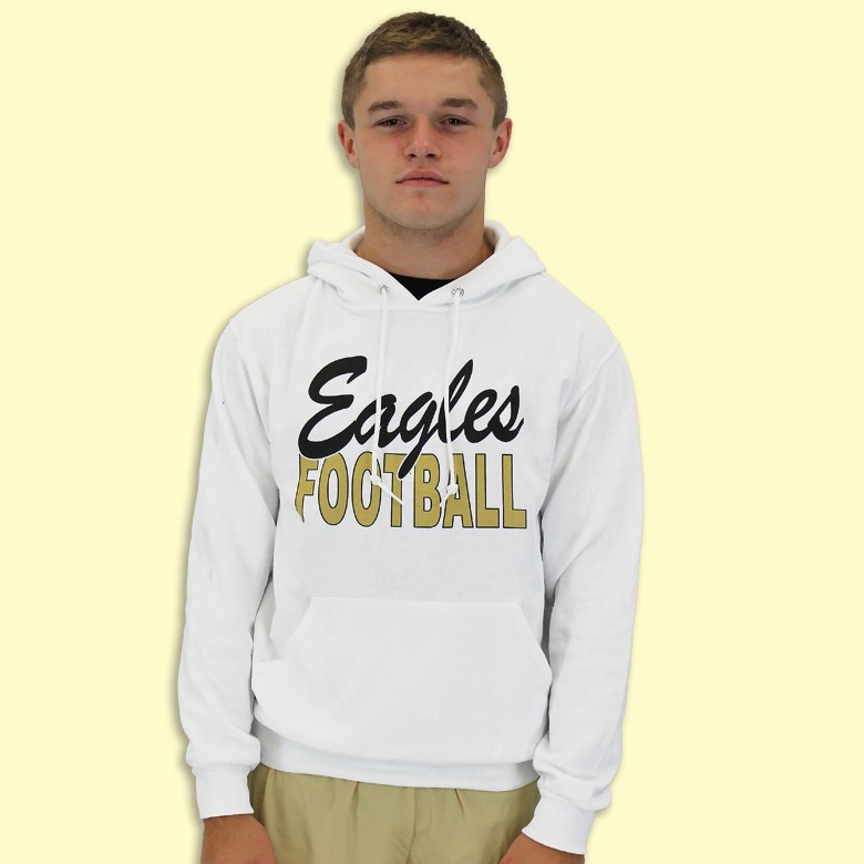GCFB-041-10-996M-043 Eagles Football Pullover Hoodie